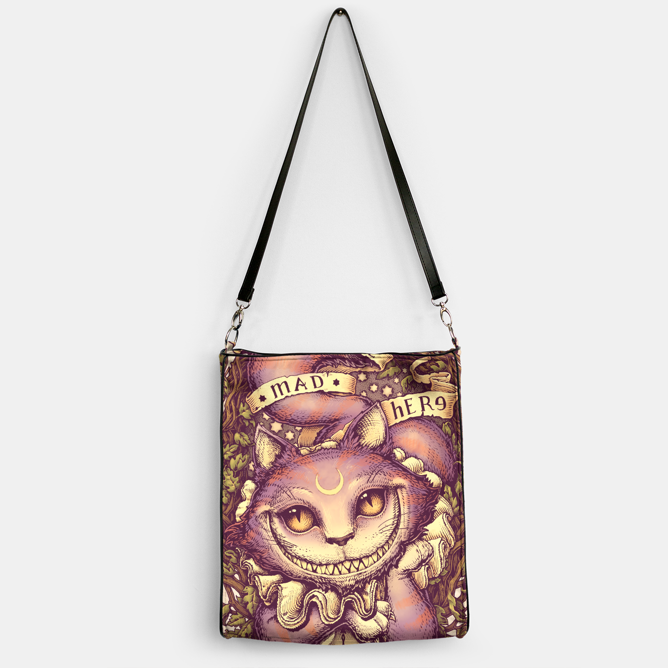 Image of Cheshire Cat Bolso - Live Heroes
