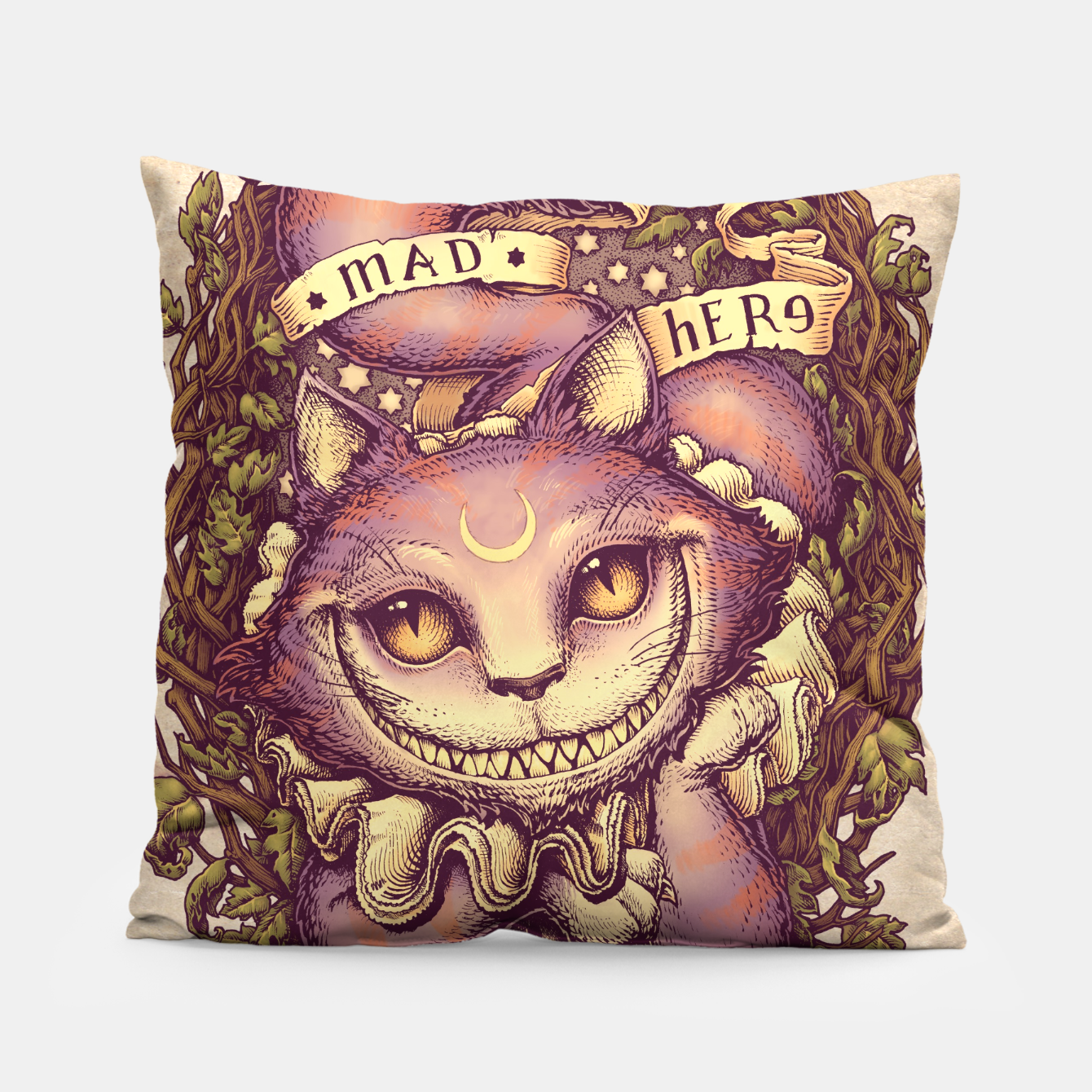 Image of Cheshire Cat Almohada - Live Heroes