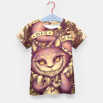 Thumbnail image of Cheshire Cat Camiseta para niños, Live Heroes