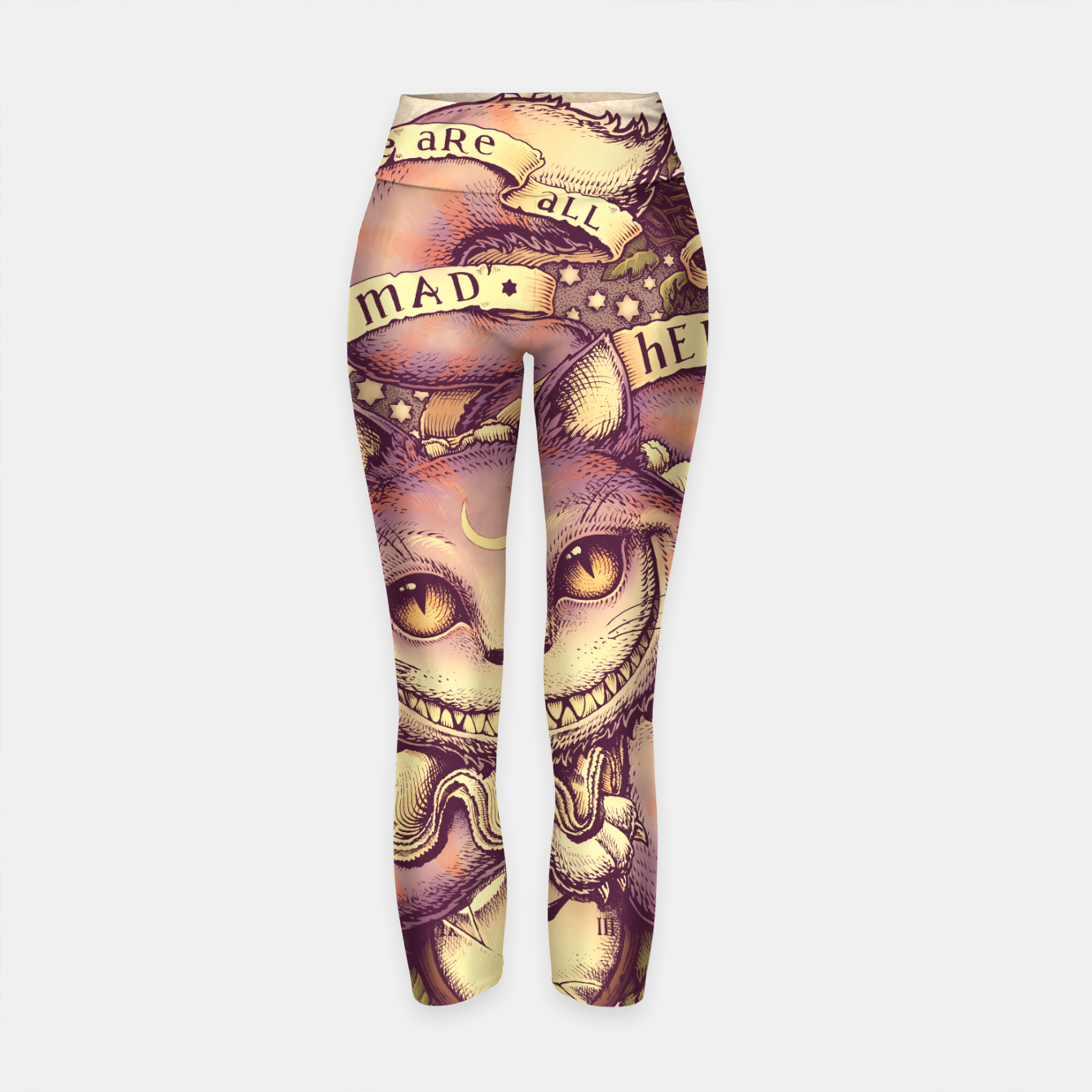 Image of Cheshire Cat Leggings de yoga - Live Heroes