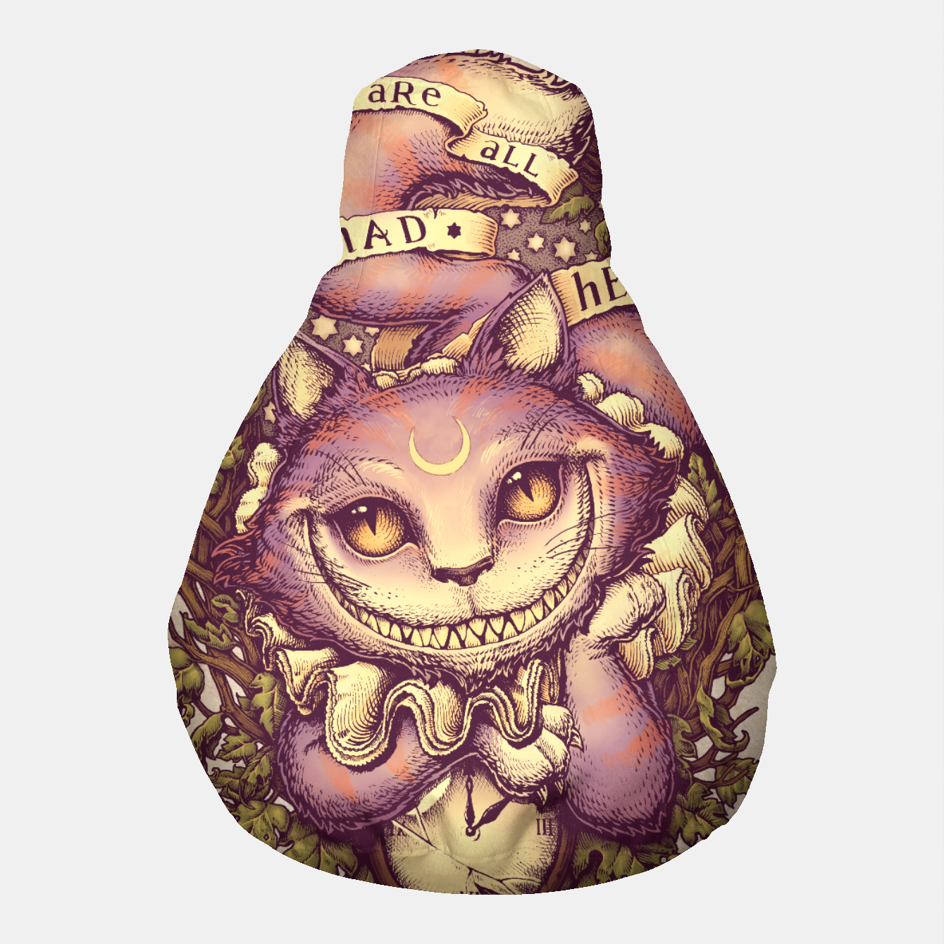 Image of Cheshire Cat Puf - Live Heroes