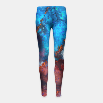 Thumbnail image of kOSMOTANY detal Girl's Leggings, Live Heroes