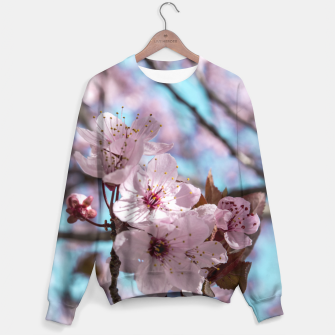 Thumbnail image of Sakura. Cherry Blossom photography Sweater, Live Heroes