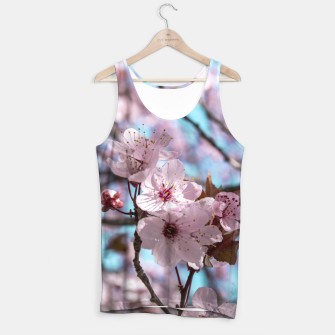 Thumbnail image of Sakura. Cherry Blossom photography Tank Top, Live Heroes