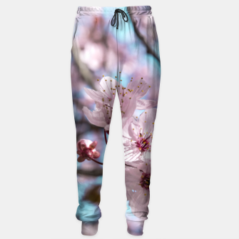 Thumbnail image of Sakura. Cherry Blossom photography Sweatpants, Live Heroes