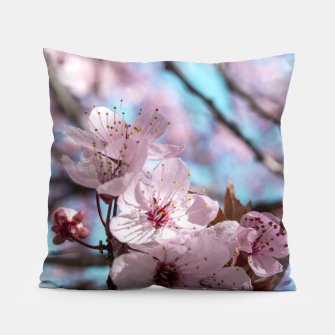 Thumbnail image of Sakura. Cherry Blossom photography Pillow, Live Heroes