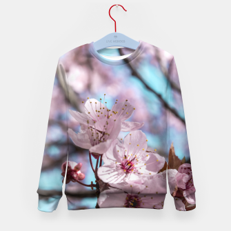 Thumbnail image of Sakura. Cherry Blossom photography Kid's Sweater, Live Heroes