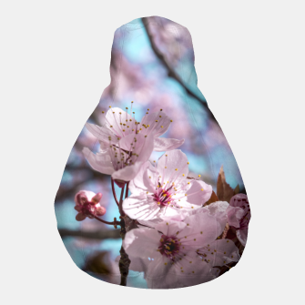 Thumbnail image of Sakura. Cherry Blossom photography Pouf, Live Heroes
