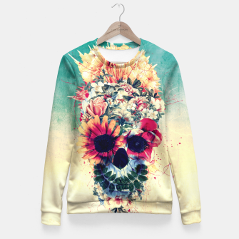 Miniatur Summer Skull Fitted Waist Sweater, Live Heroes
