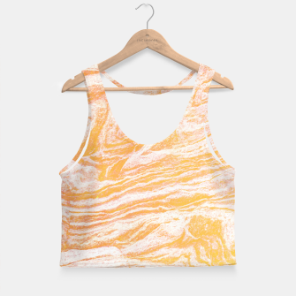 Thumbnail image of Golden Vibes Crop Top, Live Heroes