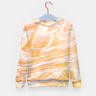 Thumbnail image of Golden Vibes Kid's Sweater, Live Heroes