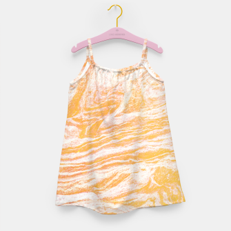 Golden Vibes Girl's Dress thumbnail image