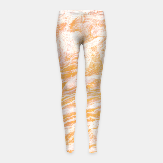 Golden Vibes Girl's Leggings thumbnail image