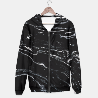Thumbnail image of Black Marble Space Hoodie, Live Heroes
