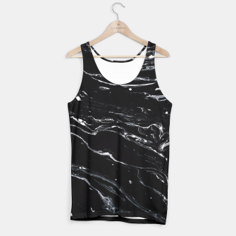 Thumbnail image of Black Marble Space Tank Top, Live Heroes