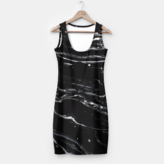 Thumbnail image of Black Marble Space Simple Dress, Live Heroes