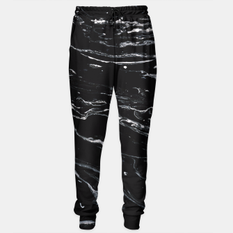 Thumbnail image of Black Marble Space Sweatpants, Live Heroes