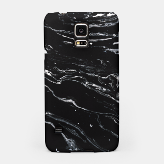 Thumbnail image of Black Marble Space Samsung Case, Live Heroes