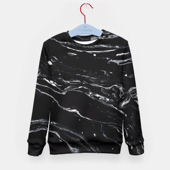 Thumbnail image of Black Marble Space Kid's Sweater, Live Heroes