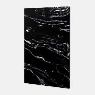 Thumbnail image of Black Marble Space Canvas, Live Heroes