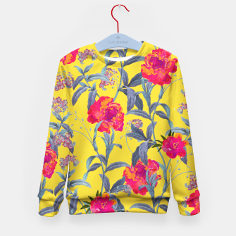 Thumbnail image of Come Into Blossom Kid's Sweater, Live Heroes