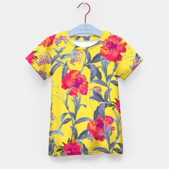 Thumbnail image of Come Into Blossom Kid's T-shirt, Live Heroes