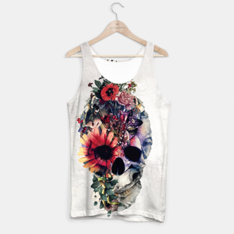Thumbnail image of Two Face Skull Tank Top, Live Heroes