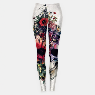 Thumbnail image of Two Face Skull Leggings, Live Heroes