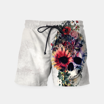Thumbnail image of Two Face Skull Swim Shorts, Live Heroes