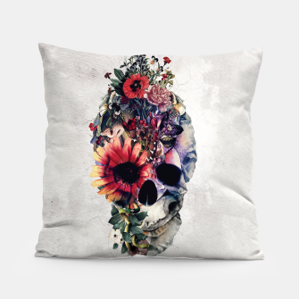 Thumbnail image of Two Face Skull Pillow, Live Heroes