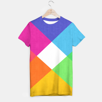 Thumbnail image of Colorful Banners T-shirt, Live Heroes