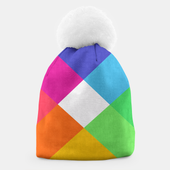 Thumbnail image of Colorful Banners Beanie, Live Heroes