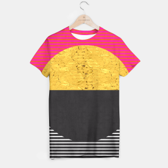 Thumbnail image of Fashion and golden pattern T-shirt, Live Heroes