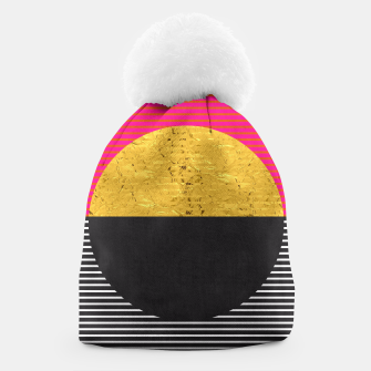 Thumbnail image of Fashion and golden pattern Beanie, Live Heroes