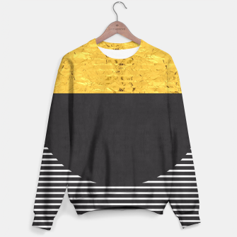 Miniaturka Fashion and golden pattern Sweater, Live Heroes