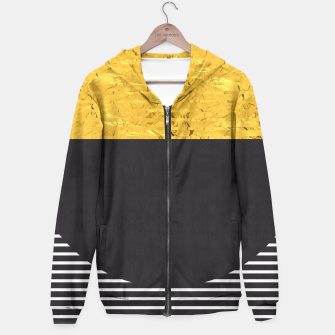 Miniaturka Fashion and golden pattern Hoodie, Live Heroes