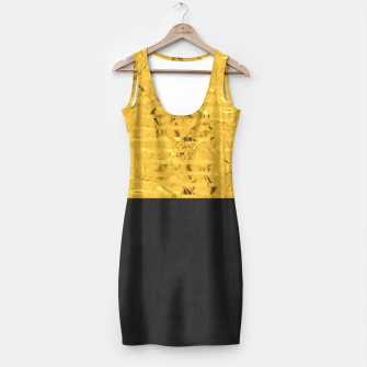 Miniaturka Fashion and golden pattern Simple Dress, Live Heroes