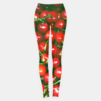 Thumbnail image of Fresh Cherries Leggings, Live Heroes