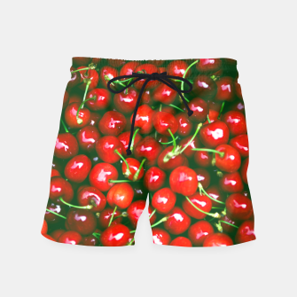 Thumbnail image of Fresh Cherries Swim Shorts, Live Heroes