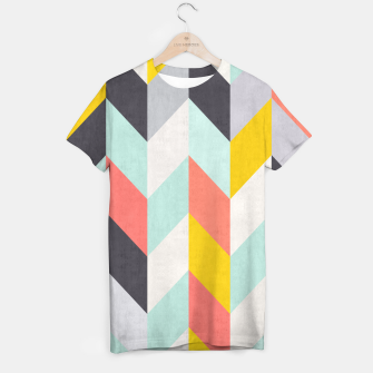 Thumbnail image of Colorful Chevron T-shirt, Live Heroes