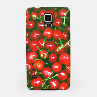 Thumbnail image of Fresh Cherries Samsung Case, Live Heroes