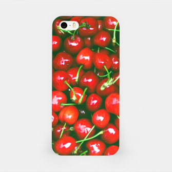 Thumbnail image of Fresh Cherries iPhone Case, Live Heroes