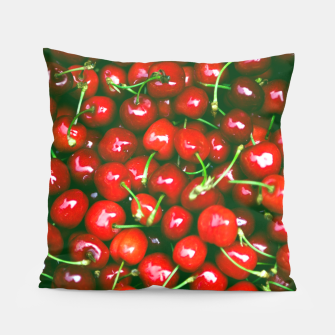 Thumbnail image of Fresh Cherries Pillow, Live Heroes