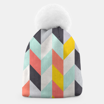 Thumbnail image of Colorful Chevron Beanie, Live Heroes