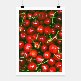 Thumbnail image of Fresh Cherries Poster, Live Heroes