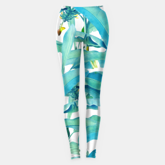 Thumbnail image of Banana Forest Leggings, Live Heroes