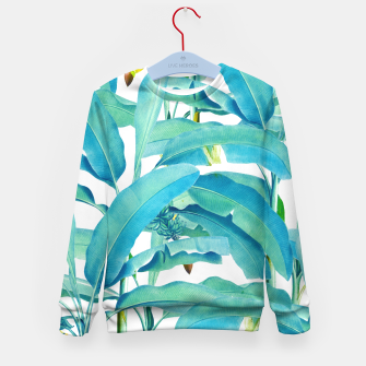 Thumbnail image of Banana Forest Kid's Sweater, Live Heroes