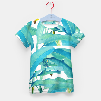 Thumbnail image of Banana Forest Kid's T-shirt, Live Heroes