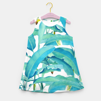 Thumbnail image of Banana Forest Girl's Summer Dress, Live Heroes