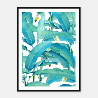 Thumbnail image of Banana Forest Framed poster, Live Heroes